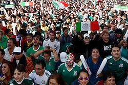 June 19, 2018 - EUM20180619DEP27.JPG.CIUDAD DE MÉXICO SoccerFutbol-México.- Los aficionados mexicanos que vuelvan a corear el ''Eeeeh pu…'' serán expulsados de los estadios donde se realiza la Copa Mundial de Rusia. Esta es una de las penalizaciones que la FIFA impondrá a todo aquel que emita el grito considerado homofóbico. Foto: Archivo Agencia EL UNIVERSALEVZ  (Credit Image: © El Universal via ZUMA Wire)