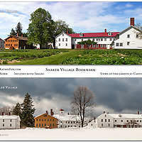Bookmark - 7x2 Double Sided Full Color. Canterbury Shaker Village.