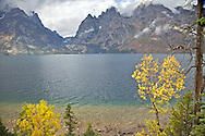 """Jenny Lake, Grand Tetons, Fall Colors<br /> <br /> For production prints or stock photos click the Purchase Print/License Photo Button in upper Right; for Fine Art """"Custom Prints"""" contact Daryl - 208-709-3250 or dh@greater-yellowstone.com"""