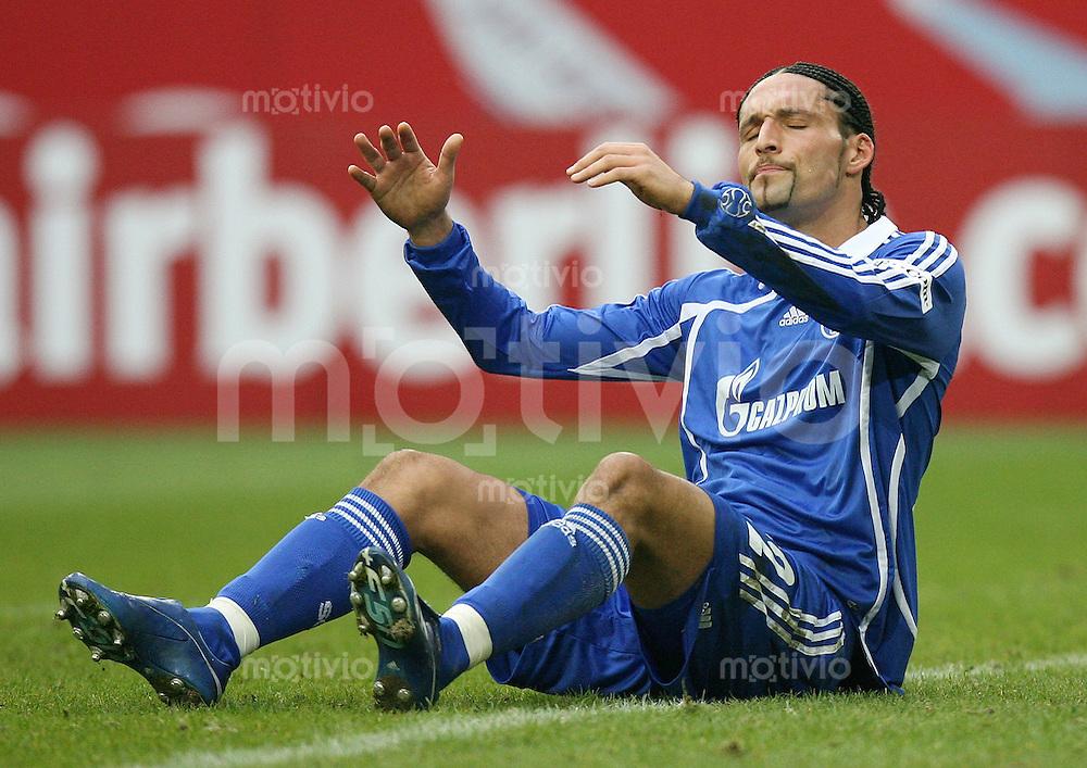Fussball  1. Bundesliga  Saison 2006/2007 Kevin KURANYI (FC Schalke 04) enttaeuscht