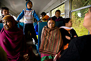 "Local passengers  travel from Darjeeling railway station down to the   various stations heading to Siliguri.  The Darjeeling Himalayan Railway, nicknamed the ""Toy Train"", is a narrow-gauge railway from Siliguri to Darjeeling in West Bengal, run by the Indian Railways. It was built between 1879 and 1881 and is about 86 km long. The elevation level is from about 100 m at Siliguri to about 2200 m at Darjeeling. It is still powered by a steam engine and travels daily between the two towns, as well as a shorter 32 Km route to Kurseong.  It is now classed as a World Heritage Site by UNESCO. India."
