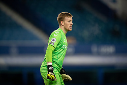LIVERPOOL, ENGLAND - Monday, March 1, 2021: Everton's goalkeeper Jordan Pickford during the FA Premier League match between Everton FC and Southampton FC at Goodison Park. Everton won 1-0. (Pic by David Rawcliffe/Propaganda)