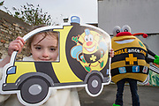 NO FEE PICTURES<br /> 26/3/16 Children nationwide will soon have the opportunity to meet their favourite Irish authors in a new and unique setting. Announced today, the partnership between children's publisher Little Island Books and BUMBLEance, The Children's National Ambulance Service will see children's authors visiting schools, festivals and libraries on board BUMBLEance to read from their work and to meet with children across primary and secondary schools nationwide. <br /> Pictured Megan Barrett age 6 from Croom Co.Limerick <br />   Pictures: Arthur Carron