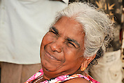 Negombo Street market, Sri Lanka portrait of a woman