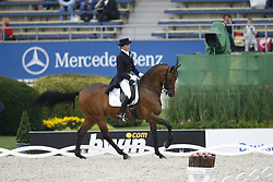 Lunskens Mieke - Jade<br /> World Equestrian Games Aachen 2006<br /> Photo © Hippo Foto