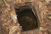 Cu Chi Tunnels, Ho Chi Minh City, Vietnam. Entrance to the Tunnel complex
