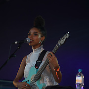London,England,UK : 17th July 2016 : Lianne LA Havas preforms at the Citadel Festival 2016 at Victoria Park, London,UK. Photo by See Li