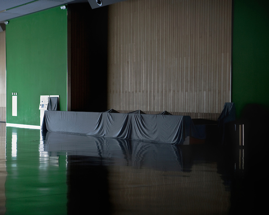 Empty Exhibition Centre