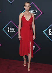 Victoria Beckham at the People's Choice Awards 2018 at The Barker Hangar on November 11, 2018 in Santa Monica, California. (Photo by Xavier Collin/PictureGroup). 11 Nov 2018 Pictured: Amber Valletta . Photo credit: Xavier Collin / MEGA TheMegaAgency.com +1 888 505 6342