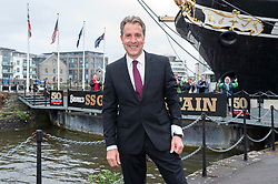 © Licensed to London News Pictures; 08/05/2021; Bristol, UK. Labour's DAN NORRIS wins the election for the West of England Combined Authority Mayor, with the declaration taking place at the SS Great Britain. Photo credit: Simon Chapman/LNP.