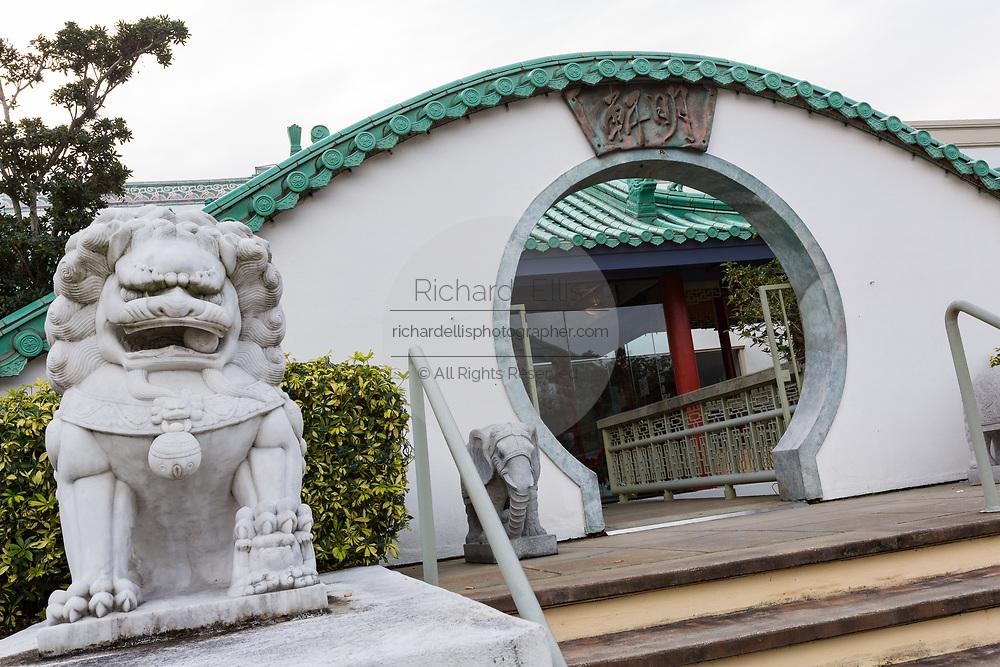 Ming Court popular tourist restaurant on International Drive in Orlando, Florida.