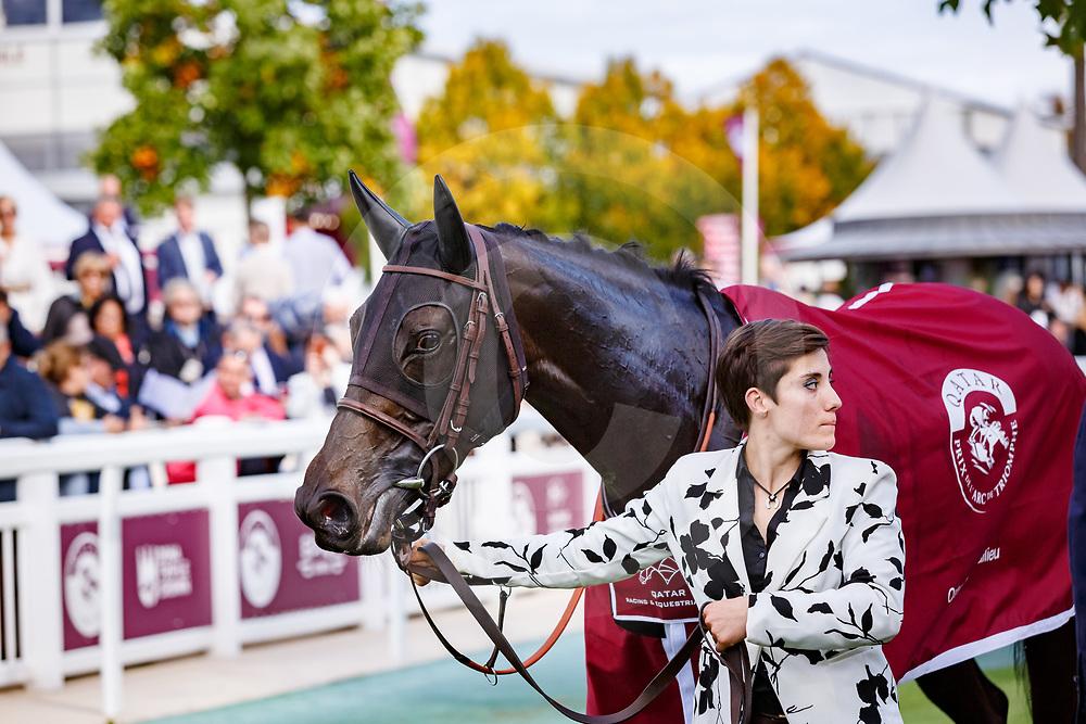 The Juliet Rose (S. Pasquier) wins Qatar Prix De Royallieu Gr. 2 in Chantilly, France 30/09/2017 photo: Zuzanna Lupa