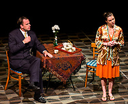 """Actor and Actress in a Scene in Sam Shepard's """"Simpatico"""": 4th Wall Stage Company; Northbridge, Massachusetts 2013"""