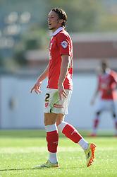 Bristol City's Luke Ayling - Photo mandatory by-line: Dougie Allward/JMP - Mobile: 07966 386802 - 11/10/2014 - SPORT - Football - Bristol - Ashton Gate - Bristol City v Chesterfield - Sky Bet League One
