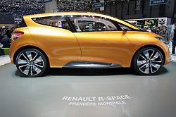 Renault R-Space concept at the Geneva Motor Show 2011 Switzerland