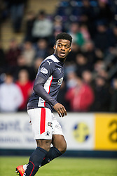 Falkirk's Botti Biabi. <br /> Falkirk 2 v 1 Brechin City, Scottish Cup fifth round game played today at The Falkirk Stadium.