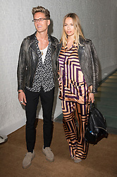 © Licensed to London News Pictures. 27/04/2016.  OLIVER PROUDLOCK and EMMA CONNOLLY attend the Ours  restaurant launch party. London, UK. Photo credit: Ray Tang/LNP