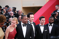 Macy Gray, Lee Daniels, John Cusack, Zac Efron, David Oyelowo, at The Paperboy gala screening red carpet at the 65th Cannes Film Festival France. Thursday 24th May 2012 in Cannes Film Festival, France.