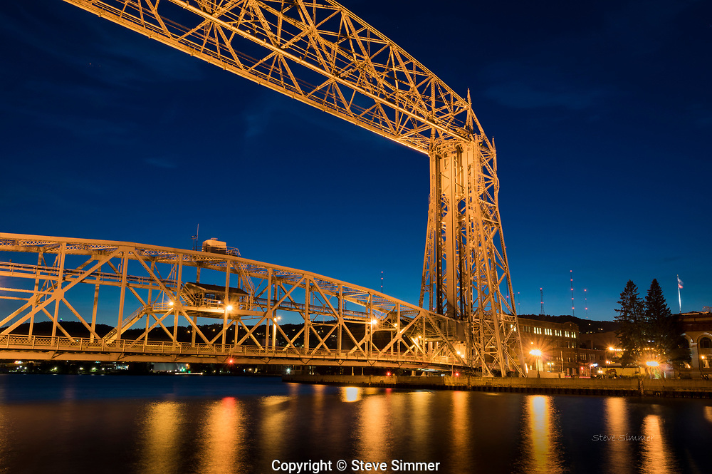 An early evening visit to Canal Park in Duluth offers many beautiful and interesting sights.