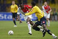 Fotball<br /> Frankrike 2004/05<br /> Monaco v Sochaux<br /> 19. november 2004<br /> Foto: Digitalsport<br /> NORWAY ONLY<br /> SHABANI NONDA (MON) / IBRAHIM TALL (SOC)