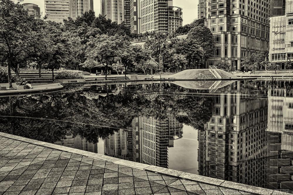 Pool Reflection, KLCC Park