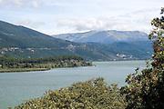 Aoos river in the vikos-aoos national park, Greece