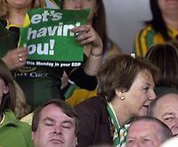 Photo: Daniel Hambury.<br /> Fulham v Norwich City.<br /> FA Barclays Premiership.<br /> 15/05/2005.Norwich majority shareholder Delia Smith.