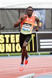 Samsung Diamond League adidas Grand Prix track & field; men's 800 meters, David Rudisha, KEN, winner,