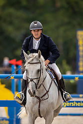 Goossens Brecht, BEL, Hero van Heiste<br /> Belgisch Kampioenschap Jumping  <br /> Lanaken 2020<br /> © Hippo Foto - Dirk Caremans<br /> 03/09/2020
