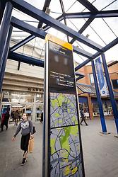 St Ann's shopping centre, Harrow, north west London UK
