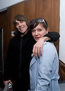 IAN BROWN; STONE ROSES; LAURA K. JONES, The Kids are all Riot. Maverick Showroom Redchurch st. London. 9 April 2009<br /> IAN BROWN; STONE ROSES; LAURA K. JONES, The Kids are all Riot. Maverick Showroom Redchurch st. London. 9 April 2009 *** Local Caption *** -DO NOT ARCHIVE-© Copyright Photograph by Dafydd Jones. 248 Clapham Rd. London SW9 0PZ. Tel 0207 820 0771. www.dafjones.com.