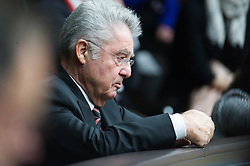 28.04.2016, Parlament, Wien, AUT, Parlament, Nationalratssitzung, Besuch des UNO-Generalsekretärs im Nationalrat, im Bild Bundespraesident von Österreich Heinz Fischer // Federal President of Austria Heinz Fischer during visit of the secretary general of the united nations at the meeting of the National Council of austria at austrian parliament in Vienna, Austria on 2016/04/28, EXPA Pictures © 2016, PhotoCredit: EXPA/ Michael Gruber