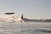 Surfing at San Onofre State Beach