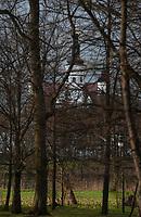 22.04.2012 Suprasl woj podlaskie N/z prawoslawny klasztor (Lawra Supraska) i cerkiew Zwiastowania NMP fot Michal Kosc / AGENCJA WSCHOD