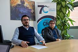 DA SX PAOLO MAZZINI E DAVIDE BELLOTTI<br /> CONFERENZA STAMPA CNA COPPARO