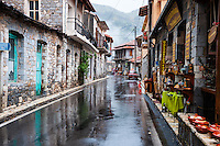Lagkadia is a mountain village in Arcadia, Peloponnese, Greece.