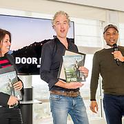 NLD/Amsterdam/20171123 - Presentatie 1e Humberto Magazine, Humberto Tan en partner Ineke Geenen