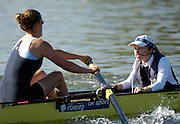 Caversham, Reading,  GBR W8+, cox, Caroline O'CONNER GB Rowing Team Training at Redgrave Pinsent Lake, Engand [Credit Peter Spurrier/Intersport Images]  [Mandatory Credit, Peter Spurier/ Intersport Images]. , Rowing course: GB Rowing Training Complex, Redgrave Pinsent Lake, Caversham, Reading