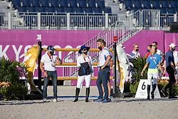 Bond Ashlee, ISR, Dubbeldam Jeroen , NED<br /> Olympic Games Tokyo 2021<br /> © Hippo Foto - Dirk Caremans<br /> 03/08/2021