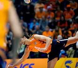 18-05-2008 VOLLEYBAL: EK KWALIFICATIE NEDERLAND - SLOVENIE: ROTTERDAM<br /> Nederland wint ook de laatste wedstrijd met 3-0 - Robert Horstink<br /> ©2008-WWW.FOTOHOOGENDOORN.NL