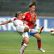 Spain's Alexandra LOPEZ (R) during their UEFA 2013 Woman's Euro Qualifying Group Stage Group 2 soccer match Turkey betwen Spain at Kasimpasa Recep Tayyip Erdogan stadium in Istanbul September 17, 2011. Photo by TURKPIX