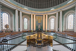 Interior of St Hedwigs Cathedral in Mitte Berlin Germany