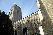 Tower and walls Church of Saint Michael, Framlingham, Suffolk