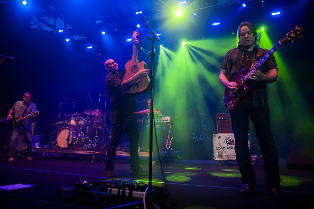 Sister Hazel performing at Pacific Amphitheatre August 25, 2021. (Photo by Miguel Vasconcellos, OC Fair & Event Center)