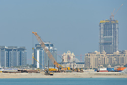 February 5, 2018 - Dubai, United Arab Emirates - The UAE remains the No.1 construction market in the GCC, and is on track to deliver growth in 2018 in the lead-up to Expo 2020 while the overall sentiment across the region's building sector shows a steady improvement, a new survey revealed..On Monday, February 5, 2018, in Dubai, United Arab Emirates. (Credit Image: © Artur Widak/NurPhoto via ZUMA Press)