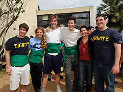 Students participate in the Trinity College study abroad program in Barcelona, Spain on Tuesday, March 29, 2011. (Photo © Jock Fistick)