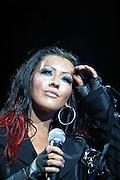 CHRISTINA AGUILERA IN CONCERT IN SYDNEY TONIGHT..PICS: PAUL LOVELACE 9-12-03