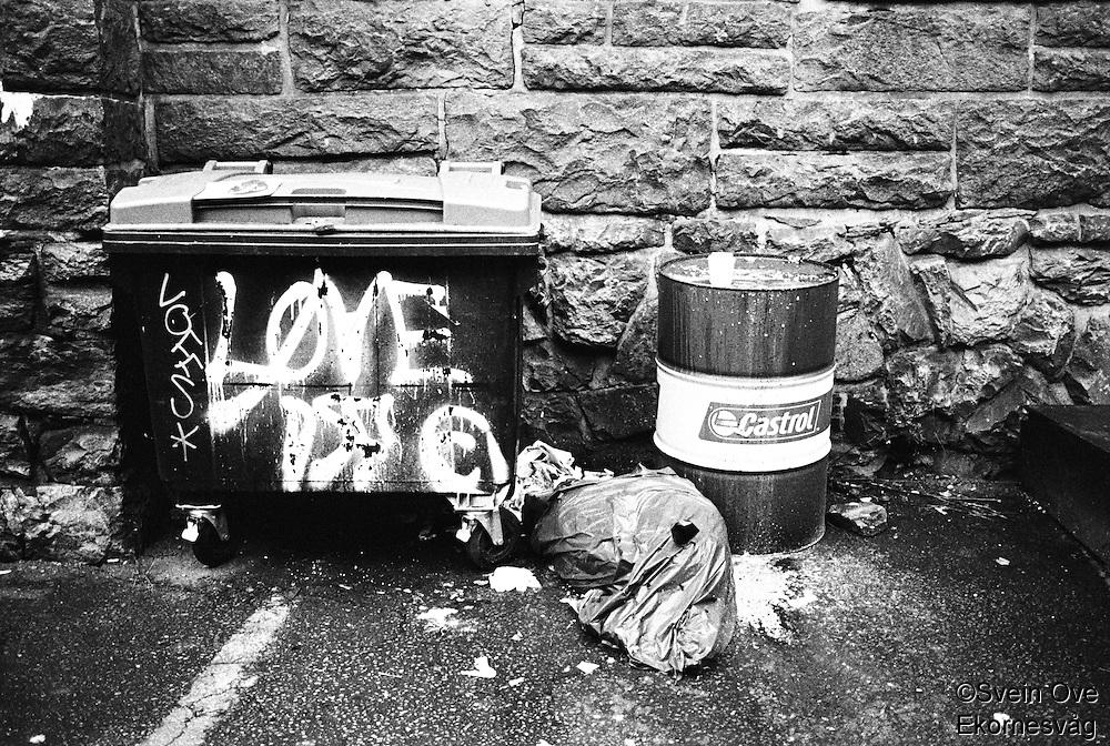 Voffs, Love & Castrol.<br /> Foto: Svein Ove Ekornesvåg