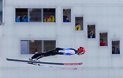 31.12.2017, Olympiaschanze, Garmisch Partenkirchen, GER, FIS Weltcup Ski Sprung, Vierschanzentournee, Garmisch Partenkirchen, Training, im Bild Stephan Leyhe (GER) // Stephan Leyhe of Germany during his Practice Jump for the Four Hills Tournament of FIS Ski Jumping World Cup at the Olympiaschanze in Garmisch Partenkirchen, Germany on 2017/12/31. EXPA Pictures © 2017, PhotoCredit: EXPA/ Jakob Gruber