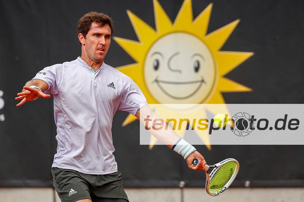 Mischa Zverev (GER) - ATP-Ranking #258 bei der International Premier League (IPL) am 4.8.2020 in Halle (TC Blau-Weiss Halle), Deutschland , Foto: Mathias Schulz